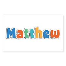 Matthew Spring11B Rectangle Decal