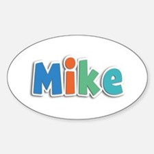 Mike Spring11B Oval Decal