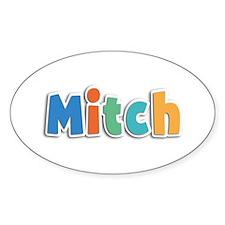 Mitch Spring11B Oval Decal