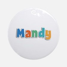 Mandy Spring11B Round Ornament