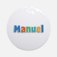 Manuel Spring11B Round Ornament