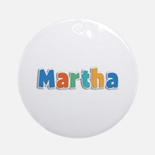 Martha Spring11B Round Ornament