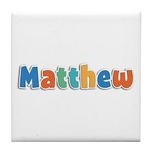 Matthew Spring11B Tile Coaster
