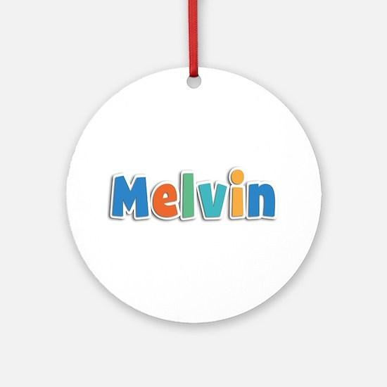 Melvin Spring11B Round Ornament