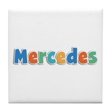 Mercedes Spring11B Tile Coaster