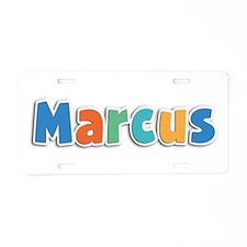 Marcus Spring11B Aluminum License Plate