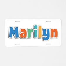 Marilyn Spring11B Aluminum License Plate