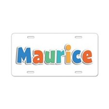 Maurice Spring11B Aluminum License Plate