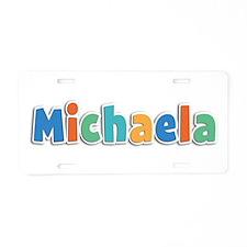 Michaela Spring11B Aluminum License Plate
