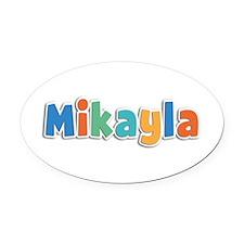 Mikayla Spring11B Oval Car Magnet