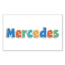 Mercedes Spring11B Rectangle Decal