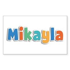 Mikayla Spring11B Rectangle Decal
