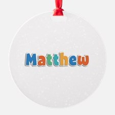 Matthew Spring11B Ornament