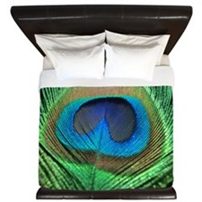Peacock Feather King Duvet