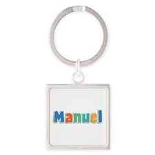 Manuel Spring11B Square Keychain