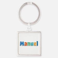 Manuel Spring11B Square Keychain