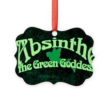 Absinthe The Green Goddess Ornament