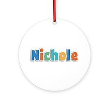 Nichole Spring11B Round Ornament