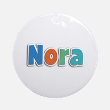 Nora Spring11B Round Ornament