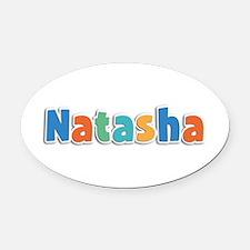 Natasha Spring11B Oval Car Magnet