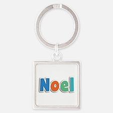 Noel Spring11B Square Keychain