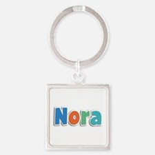 Nora Spring11B Square Keychain