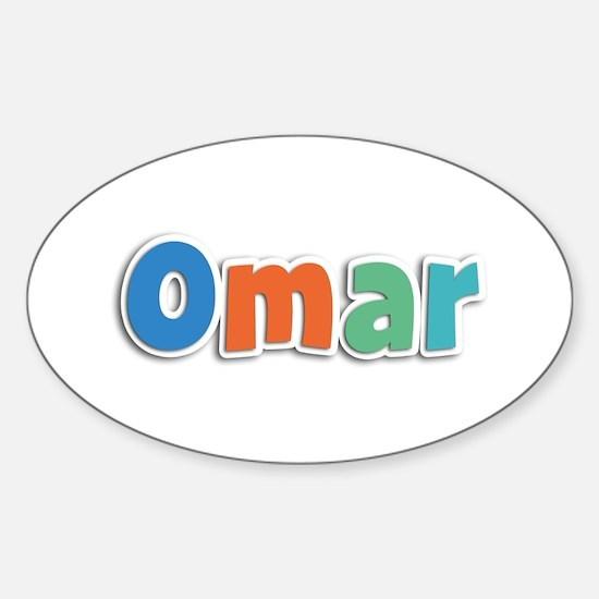 Omar Spring11B Oval Decal