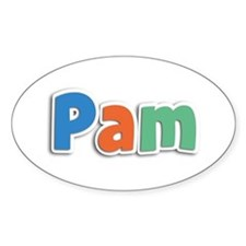Pam Spring11B Oval Decal