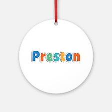 Preston Spring11B Round Ornament