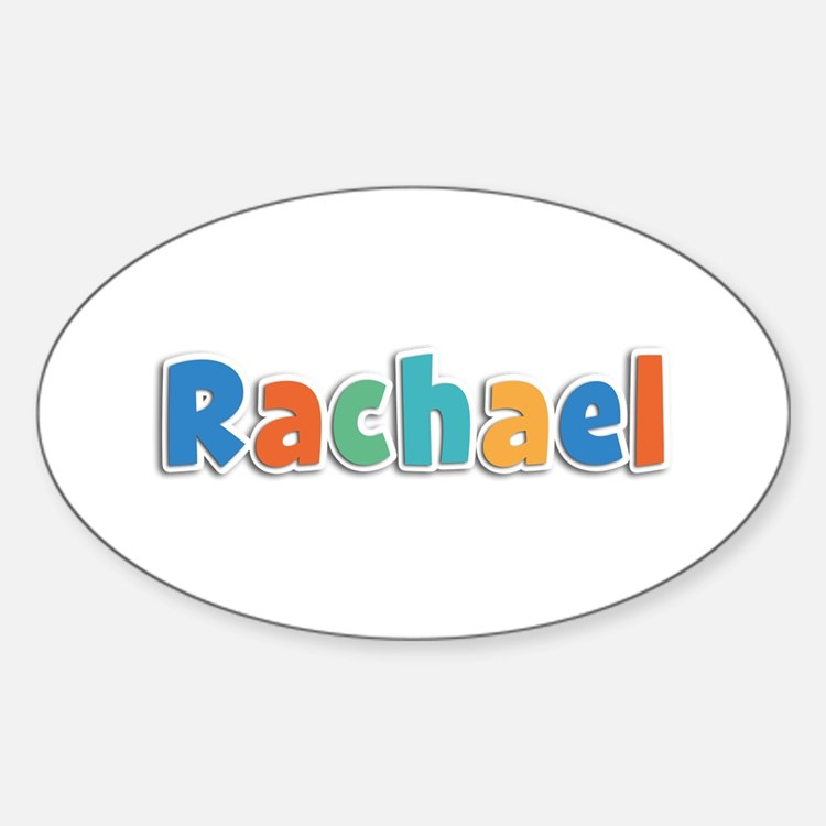 Rachael Spring11B Oval Decal