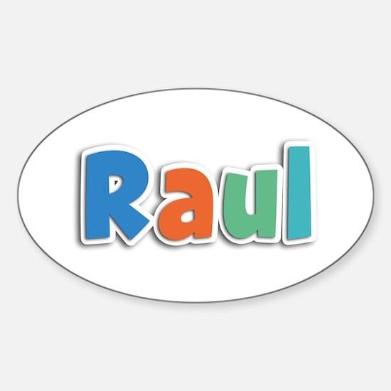 Raul Spring11B Oval Decal