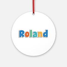 Roland Spring11B Round Ornament