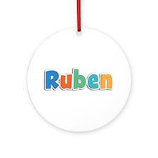 Ruben Spring11B Round Ornament