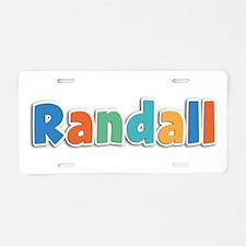Randall Spring11B Aluminum License Plate
