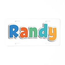 Randy Spring11B Aluminum License Plate