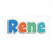 Rene Spring11B Aluminum License Plate