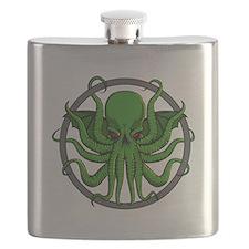 Cthulhu Rising Flask