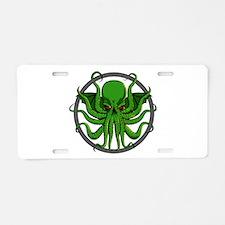 Cthulhu Rising Aluminum License Plate