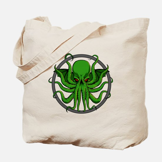 Cthulhu Rising Tote Bag