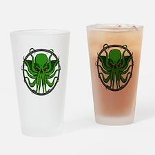 Cthulhu Rising Drinking Glass