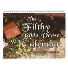 The 2011 Filthy Bible Verse Wall Calendar