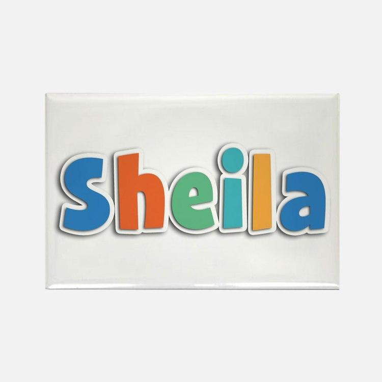 Sheila Spring11B Rectangle Magnet