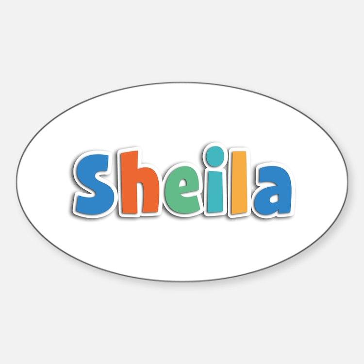 Sheila Spring11B Oval Decal
