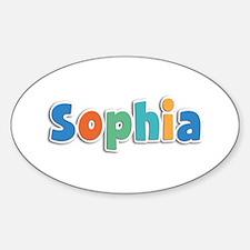 Sophia Spring11B Oval Decal