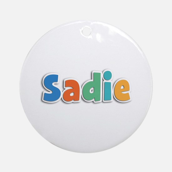 Sadie Spring11B Round Ornament
