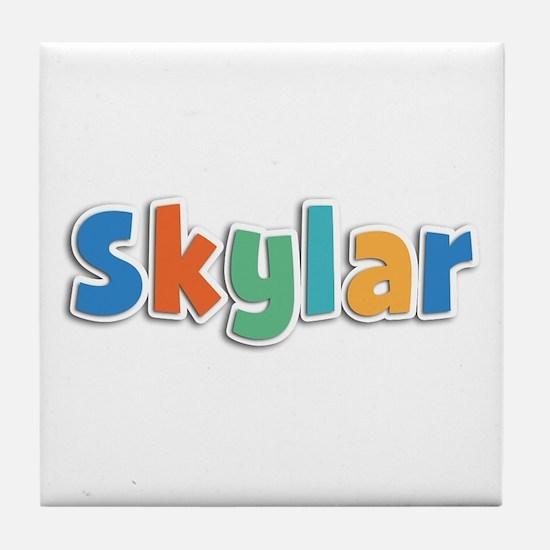 Skylar Spring11B Tile Coaster