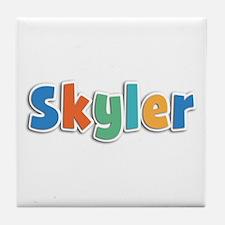 Skyler Spring11B Tile Coaster