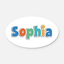 Sophia Spring11B Oval Car Magnet