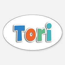 Tori Spring11B Oval Decal