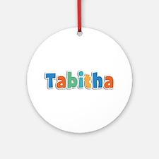 Tabitha Spring11B Round Ornament